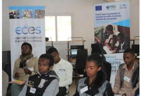 Séminaire des jeunes universitaires sensibles aux conflits et violences potentiels liés aux élections à Fianarantsoa le 13 et 14 Avril 2018