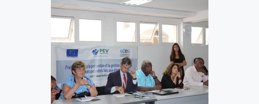 Réunion du Comité d'Echange et de Conseil (CEC)