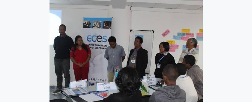 Formation des Points Focaux sur le leadership, la prévention et la gestion de conflits liés aux élections à Antananarivo du 02 au 05 Mai 2018