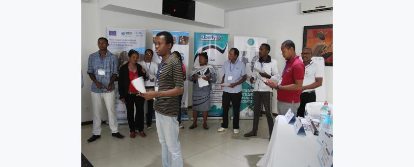 Formation des Points Focaux sur le leadership, la prévention et la gestion de conflits liés aux élections à Toamasina du 14 au 16 Mai 2018